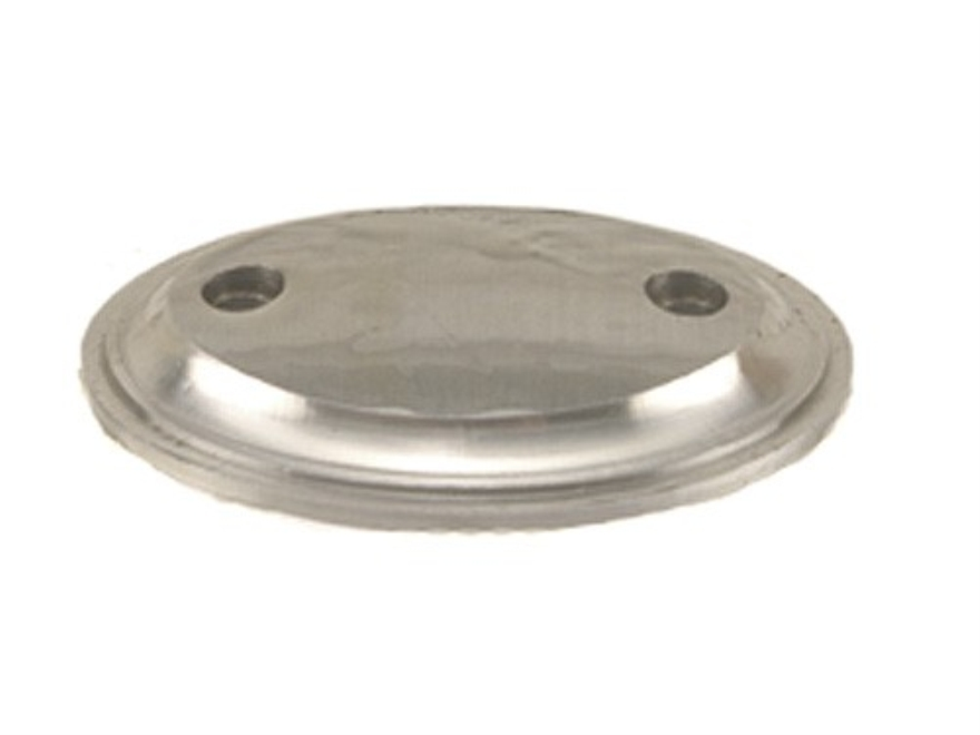 "Jerry Fisher Grip Cap 2-Screw 1.75"" x 1.27"" Steel in the White"