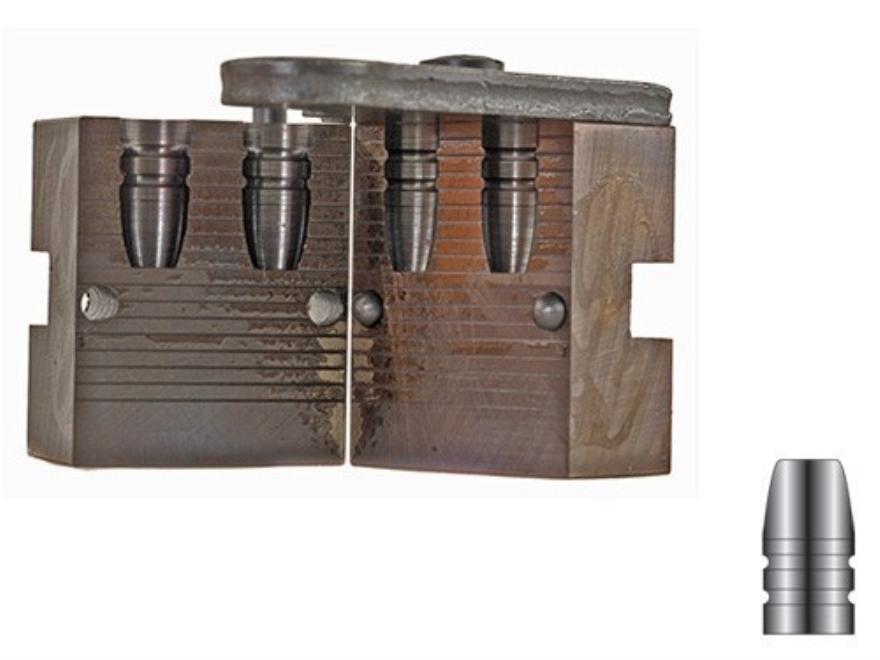 Lyman 2-Cavity Bullet Mold #311008 32-20 WCF (312 Diameter) 115 Grain Flat Nose