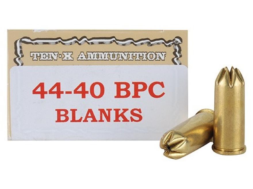 Ten-X Ammunition 44-40 WCF Pistol Blank BPC Box of 50