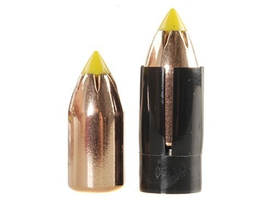 Thompson Center Shock Wave Sabot 50 Caliber with 300 Grain Polymer Tip Spire Point Bull...
