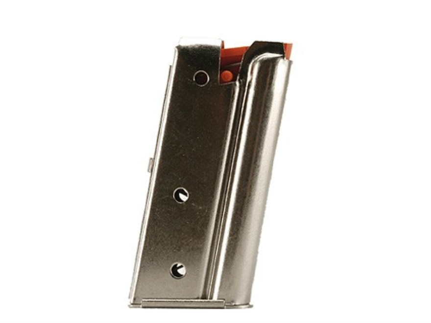 Marlin Magazine Post-1996 Semi Autos 22 Long Rifle 7-Round Steel Nickel Plated