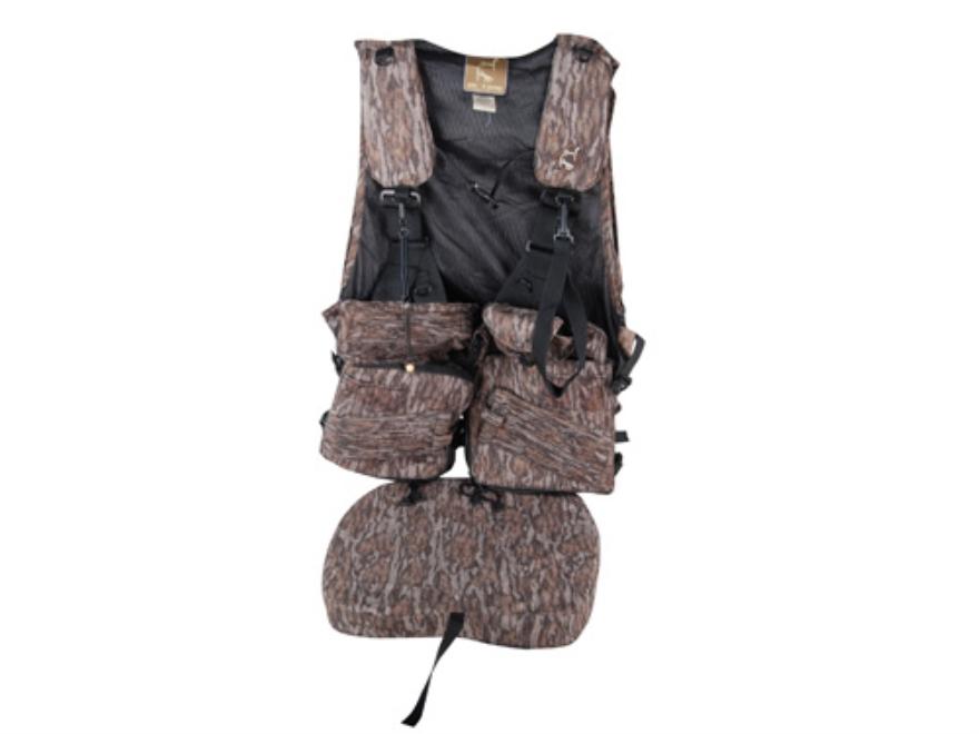 Ol' Tom Duralite Time & Motion I-Beam Turkey Vest Mossy Oak Bottomland Camo