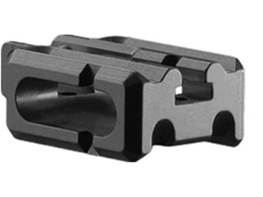 Mako Dual Rail Bayonet Lug Mount AR-15 Aluminum Black