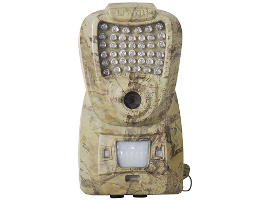 HCO UWAY NightTrakker NT50 Infrared Digital Game Camera with Remote and Color Viewing Screen 5.0 Megapixel HCO Stem Camo
