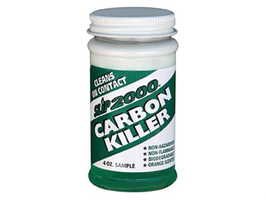 Slip 2000 Carbon Killer Bore, Gas Piston and Choke Tube Cleaning Solvent 4 oz Liquid