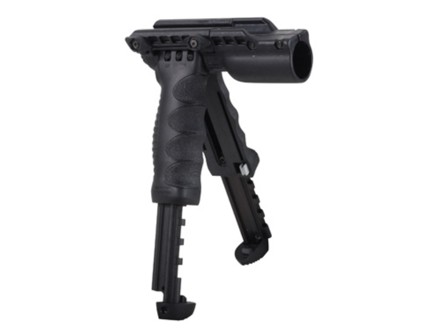 "Mako T-Pod Gen 2 Vertical Forend Grip With Bipod and 1"" Diameter Light Mount Quick Rele..."