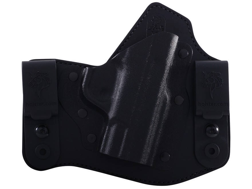 DeSantis Intruder Inside the Waistband Holster Right Hand S&W M&P Shield Kydex and Leather Black