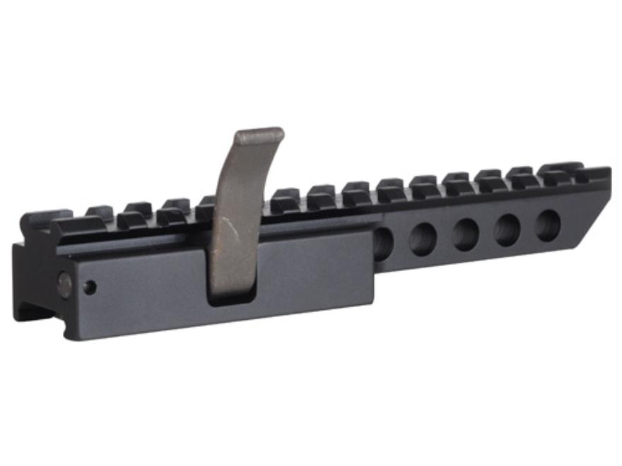 "PRI Gator Grip Quick-Detach Extended Picatinny-Style Riser Mount 6-1/4"" AR-15 Flat-Top Aluminum Matte"