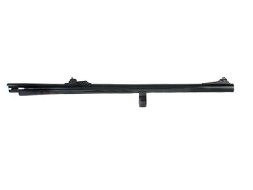 "Remington Slug Barrel Remington 870 Wingmaster 12 Gauge 3"" 20"" Rem Choke with Rifled and Improved Cylinder Chokes, Rifle Sights Blue"