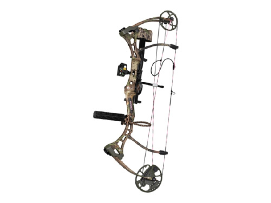 "Bear Home Wrecker RTH Compound Bow Package Right Hand 40-50 lb 22""-28"" Draw Length Realtree Max-1 Camo"