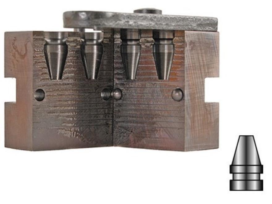 Lyman 2-Cavity Bullet Mold #356402 9mm (356 Diameter) 120 Grain Truncated Cone