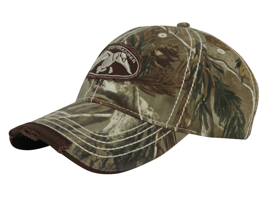 Duck Commander HD Camo Logo Cap Cotton Polyester Blend Realtree AP Camo