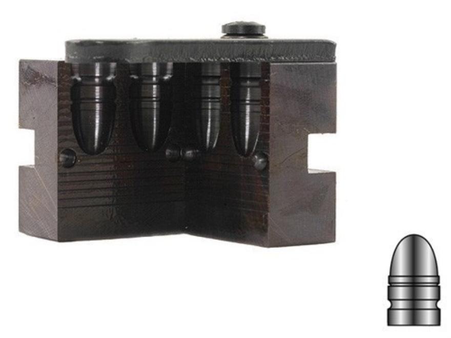 Lyman 2-Cavity Bullet Mold #429383 44 Special, 44 Remington Magnum (430 Diameter) 245 Grain Round Nose