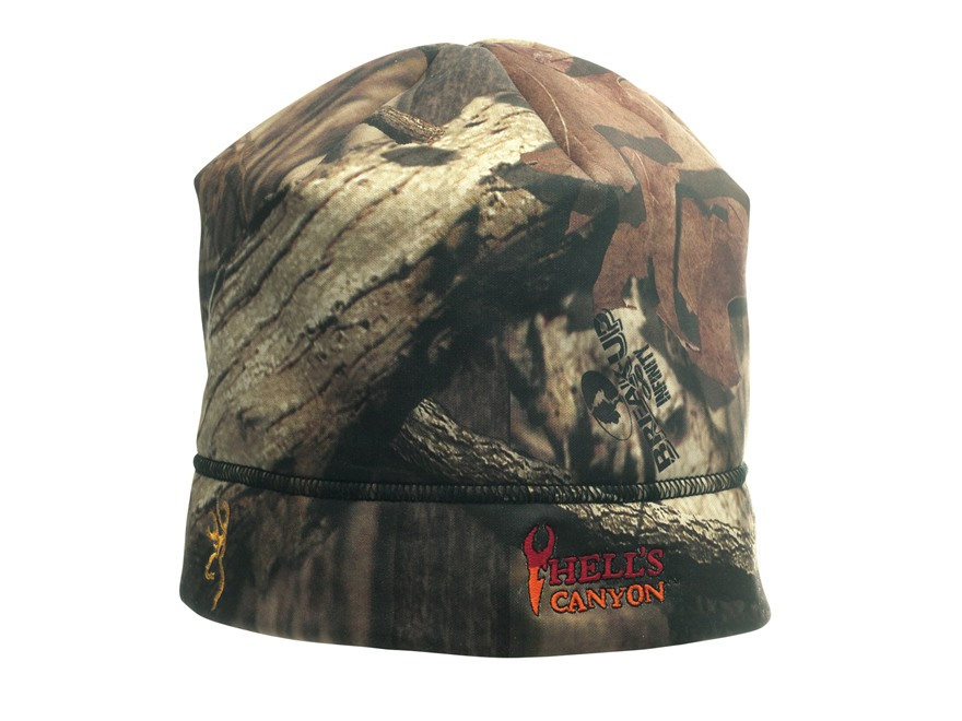 Browning Hell's Canyon Beanie Polyester Mossy Oak Break-Up Infinity Camo