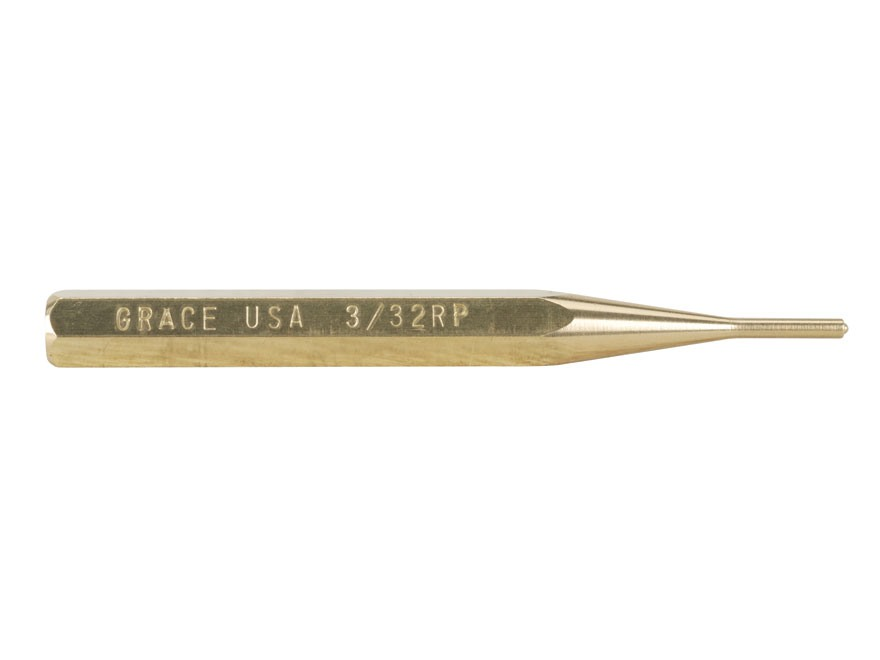 Grace USA Roll Pin Punch Brass