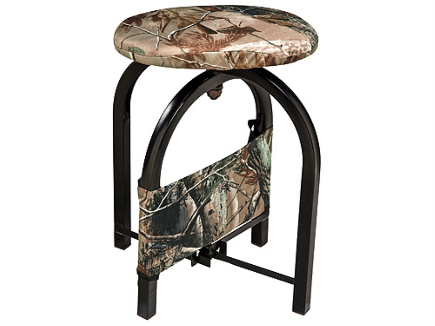 Ameristep Compass Ground Hunting Blind Swivel Stool Chair