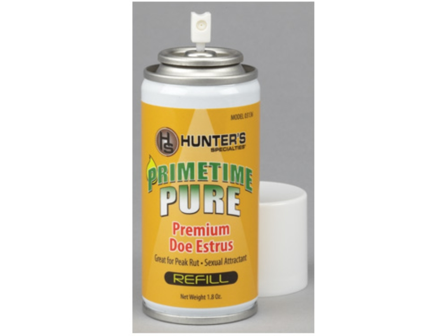 Primetime Mister Pure Doe Estrus Replacement Deer Scent 1.8 oz Aerosol