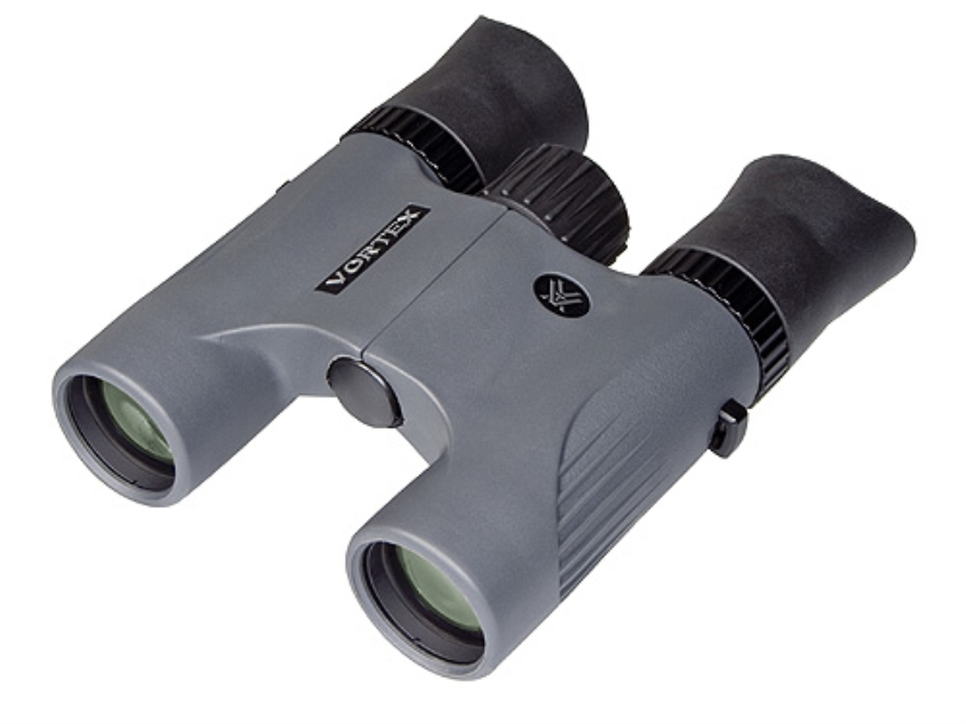 Vortex Optics Viper Tactical Binocular 8x 28mm Roof Prism Rangefinding Reticle Rubber Armored Gray