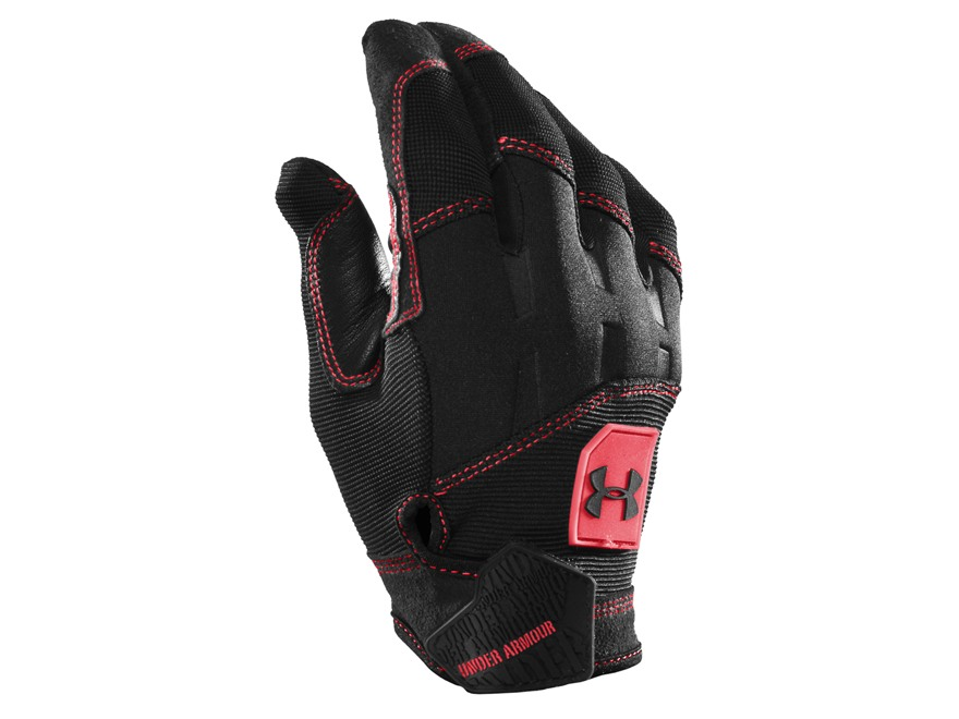Under Armour Speed Gloves Synthetic Blend Black XL
