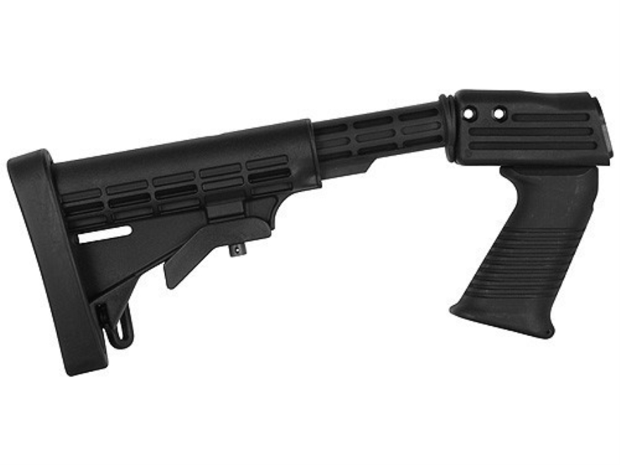 TAPCO Intrafuse T6 Stock Set 6-Position Collapsible Remington 870 Synthetic Black