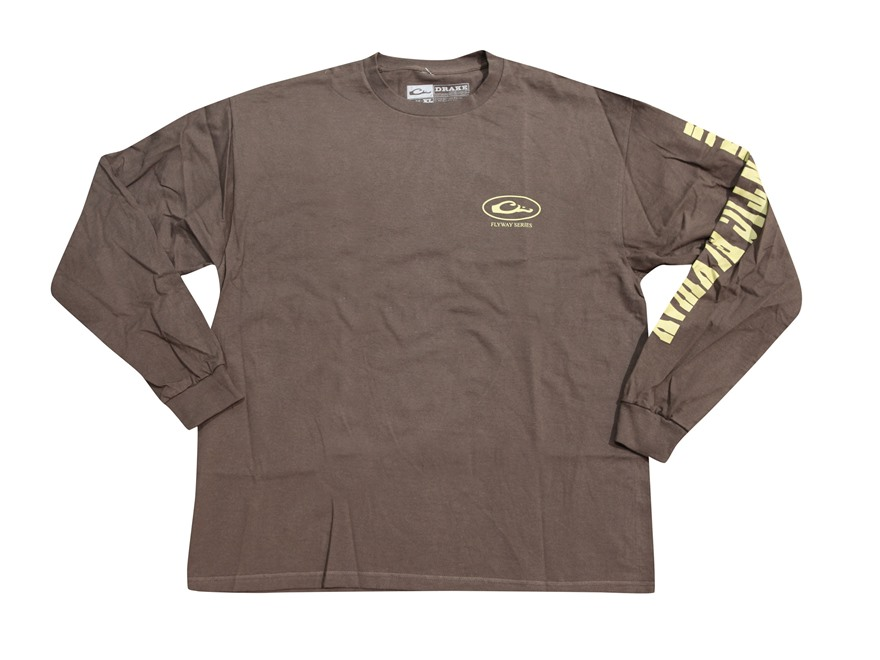 Drake Men's Atlantic Flyway Series T-Shirt Long Sleeve Cotton