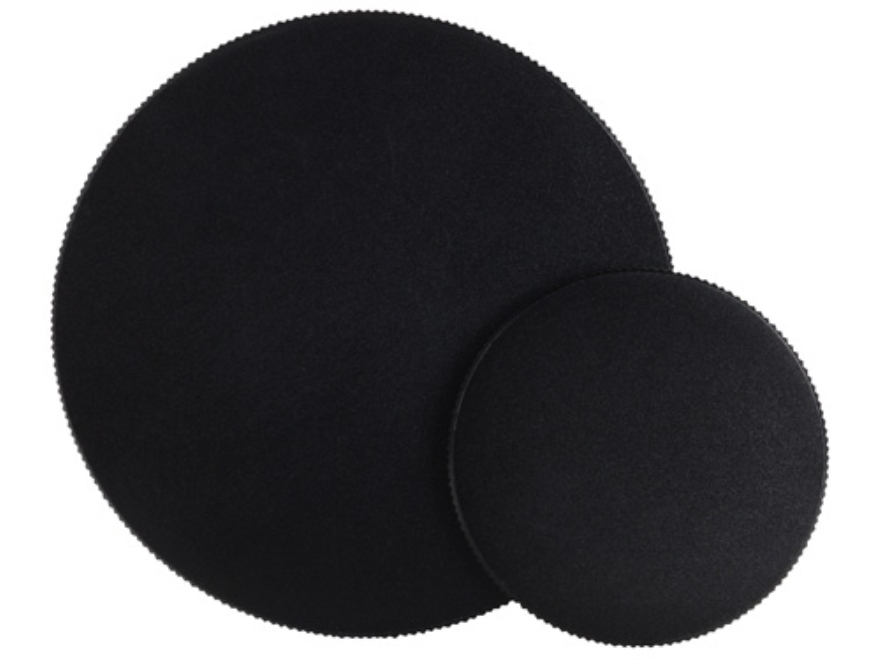 Nightforce Metal Threaded Rifle Scope Lens Covers for Benchrest Models Matte