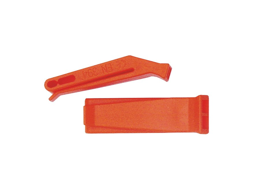 NDUR Marine Safety Whistle Plastic Orange