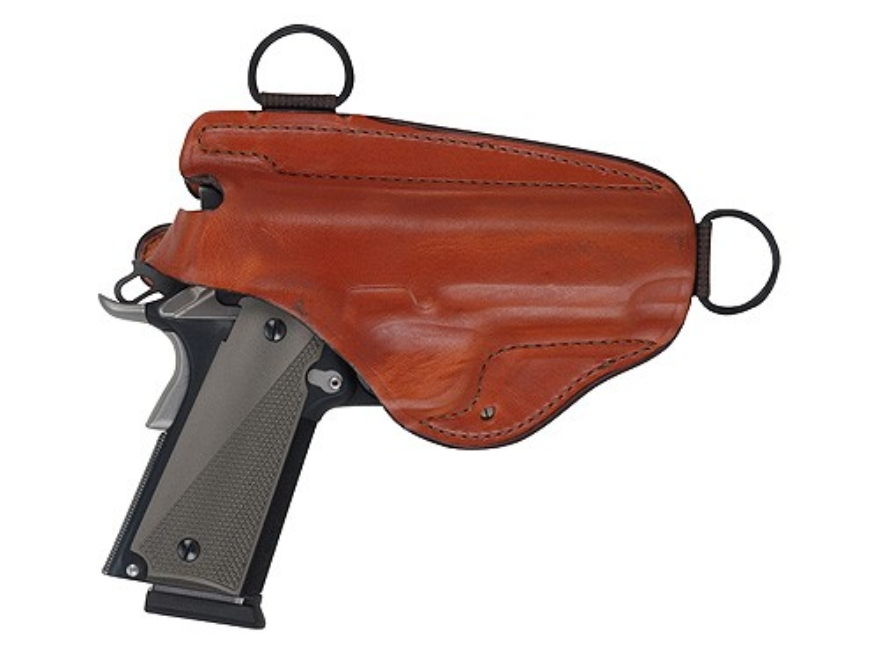 "Bianchi X16H Agent X Shoulder Holster Colt Detective Special, S&W J-Frame 2"" Barrel Leather Tan"