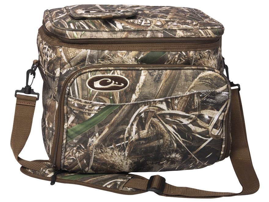 Drake 18 Pack Soft Sided Cooler Polyester Realtree Max 5 Camo