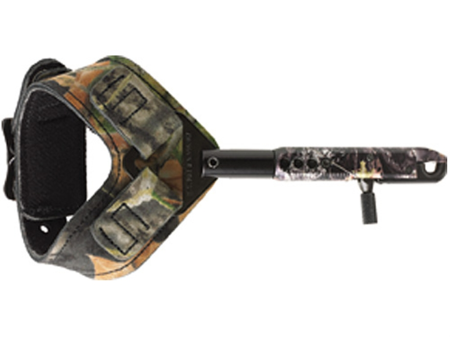 Scott Archery Mongoose Deluxe Bow Release Buckle Wrist Strap Mossy Oak Break-Up Camo