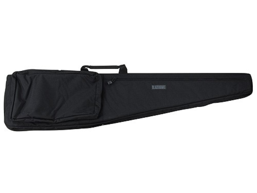 "BLACKHAWK! Scoped Rifle Gun Case 51"" with Pocket and Sling Nylon Black"