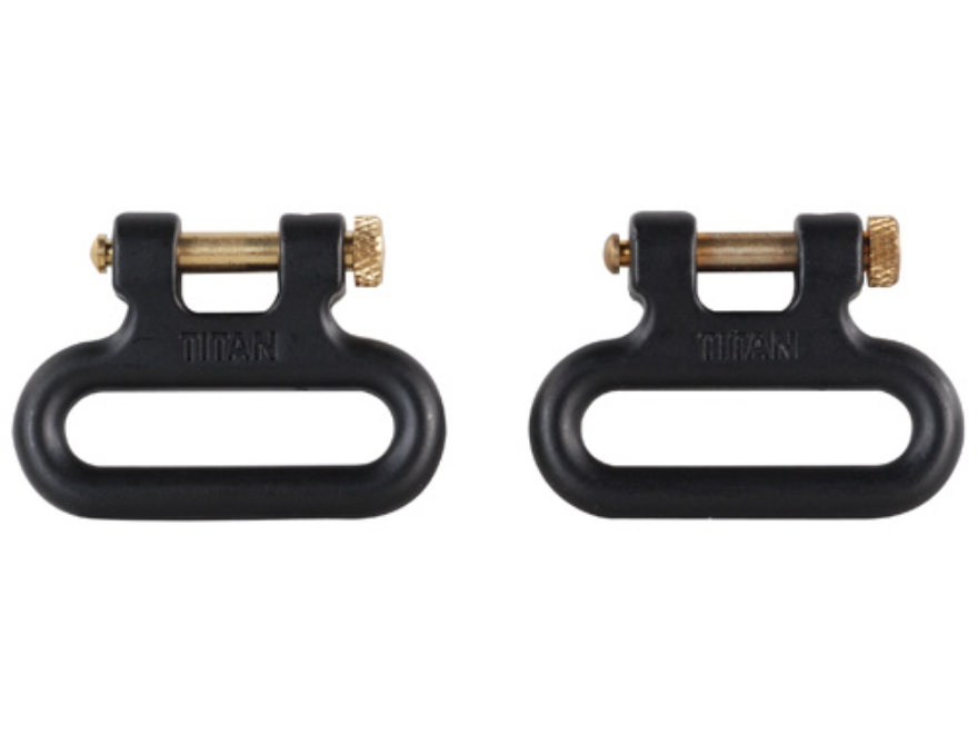 "The Outdoor Connection Titan Q-R Detachable Sling Swivels 1"" Stainless Steel (1 Pair)"