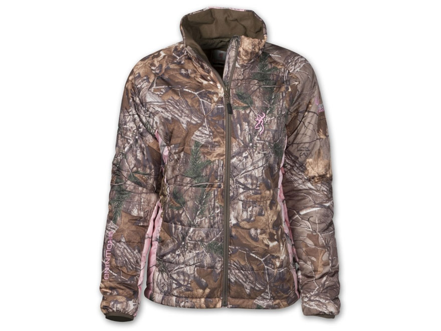 Rocky Ladies' Fleece Jacket with Camo Accents, Realtree AP HD Pink