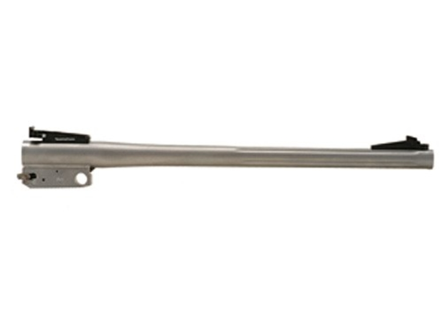 "Thompson Center Barrel Thompson Center Encore Pro Hunter 308 Winchester Heavy Contour 1 in 10"" Twist 15"" Fluted Stainless Steel Adjustable Sights"