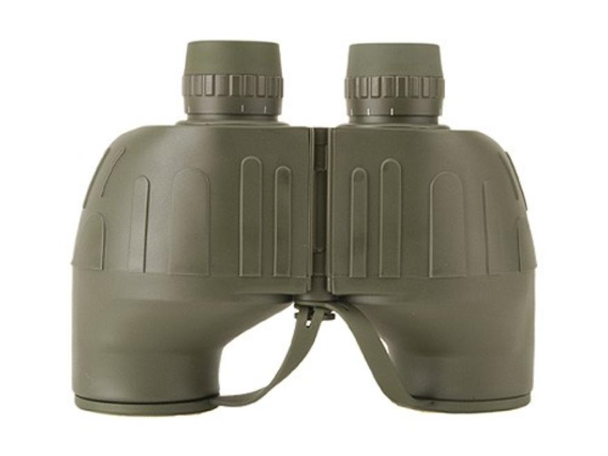 ATN Omega Class Binocular 7x 50mm Porro Prism with Rangefinder Reticle Green
