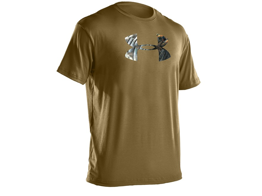 Under Armour Men's UA Turkey Feathers Logo Short Sleeve T-Shirt Cotton Blend