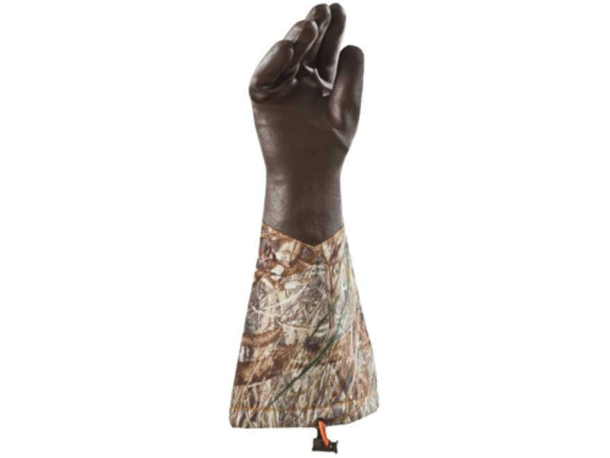 Under Armour SkySweeper Gloves Synthetic Blend Mossy Oak Duck Blind Camo Large