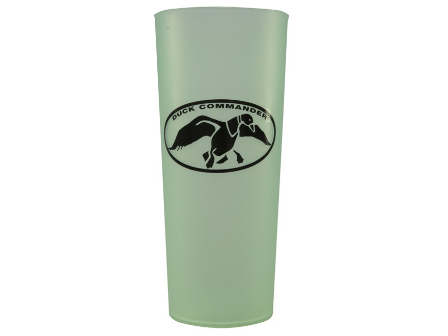 Duck Commander Uncle Si Tea Glass Polymer Green