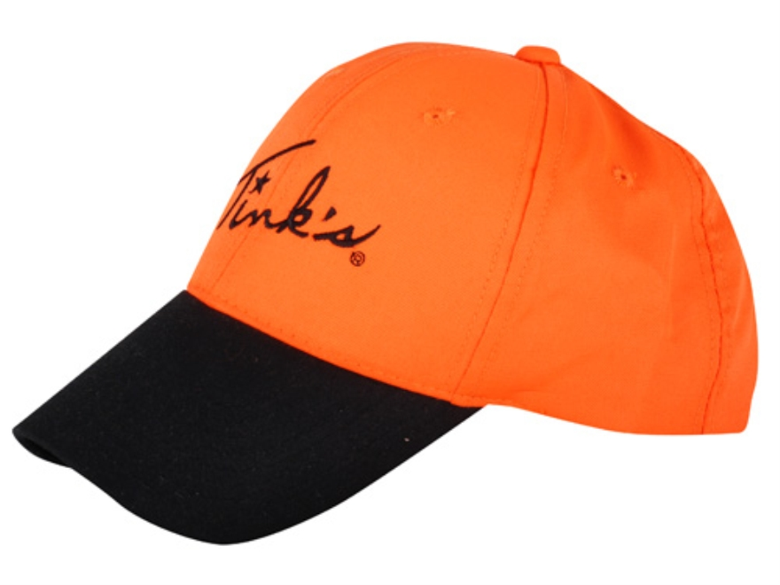 Tink's Embroidered Logo Cap Cotton Blaze Orange