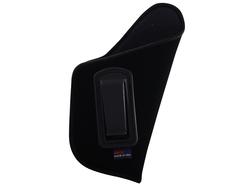 "GrovTec GT Inside the Waistband Holster Right Hand Size 16 for 3.25-3.75"" Barrel Medium and Large Frame Semi-Automatics Nylon Black"