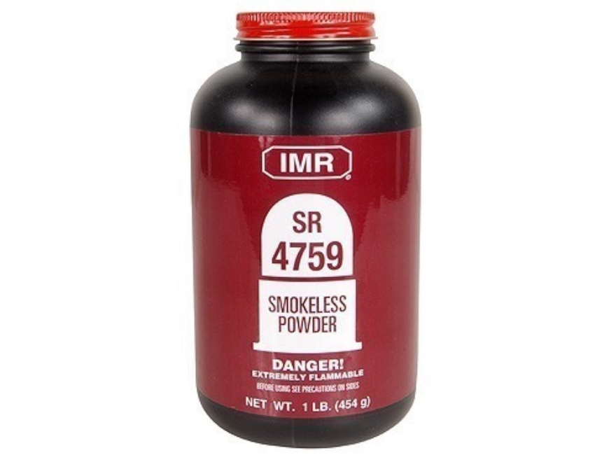 IMR SR4759 Smokeless Gun Powder 1 lb