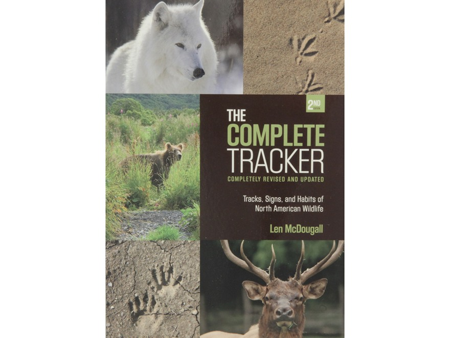 """The Complete Tracker"" 2nd Edition Book by Len McDougall"