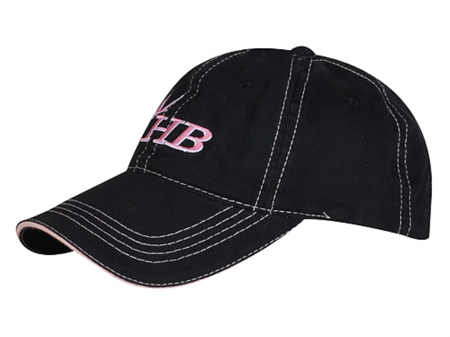 Heartland Bowhunter HB Logo Women's Cap Cotton Black and Pink