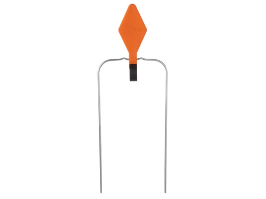 "Champion DuraSeal Swinging Single Diamond Reactive Target 5-1/2"" Ballistic Polymer Orange"