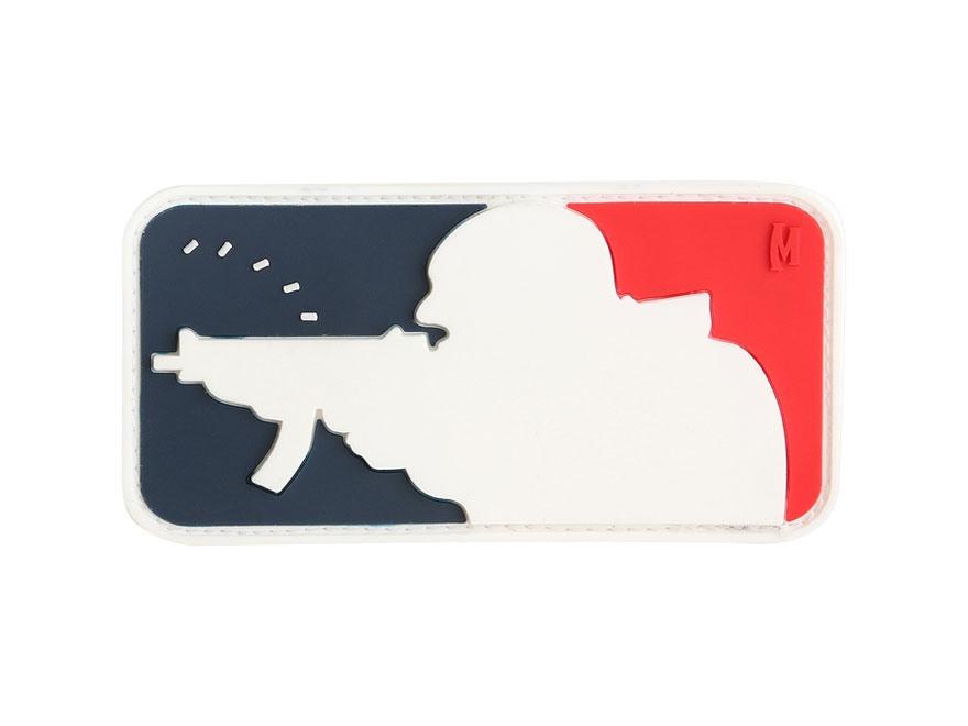 "Maxpedition Major League Shooter PVC Patch 3"" x 1.6"""