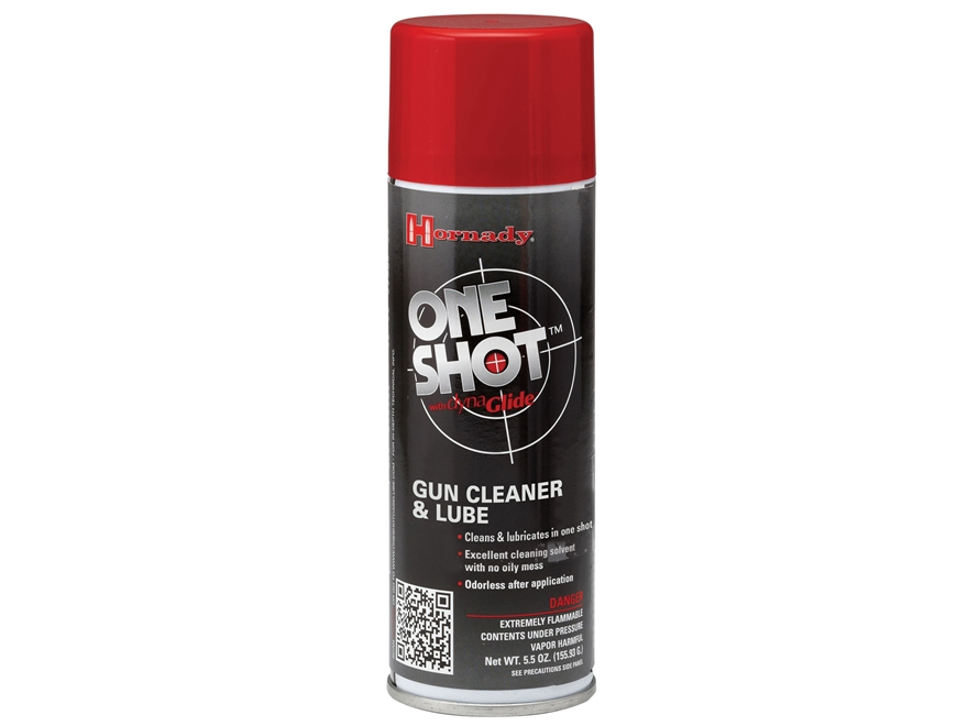 Hornady One Shot Gun Cleaner with Dyna Glide Plus 5-1/2 oz. Aerosol