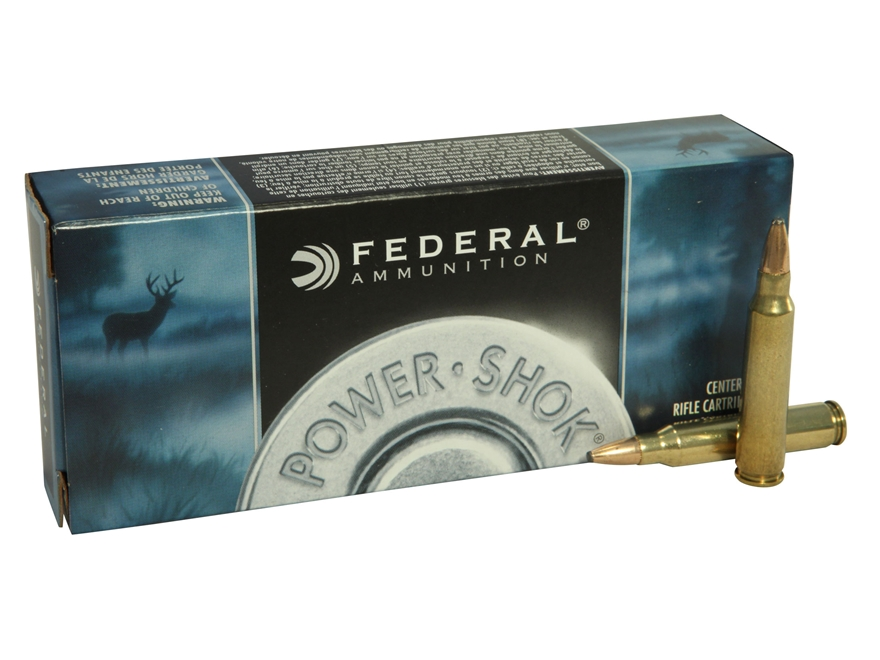 Federal Power-Shok Ammunition 223 Remington 55 Grain Soft Point Box of 20