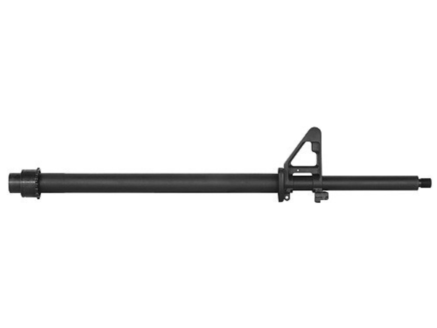 "Olympic Arms UltraMatch Barrel AR-15 223 Remington Heavy Contour 1 in 10"" Twist 20"" Stainless Steel Black with Front Sight"