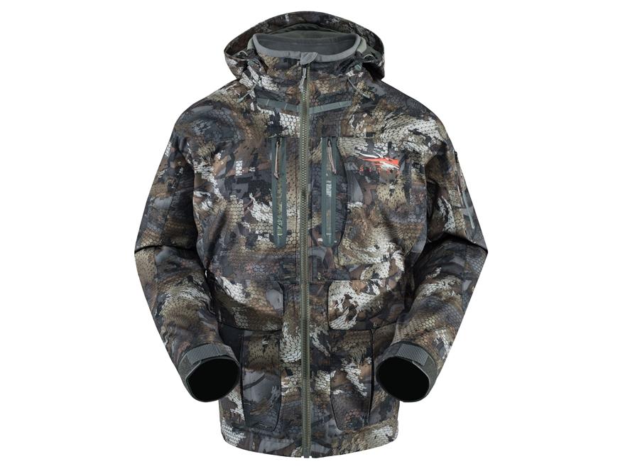 Sitka Gear Men's Hudson Waterproof Insulated Jacket Polyester Gore Optifade Waterfowl