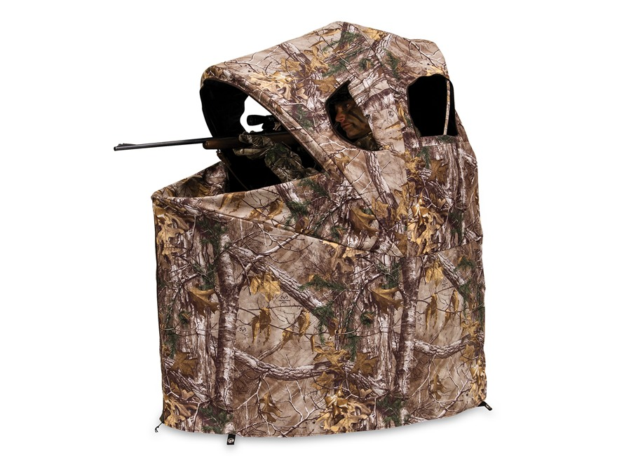 "Ameristep Tent Chair Ground Blind 34"" x 45"" x 54"" Polyester Realtree Xtra Camo"